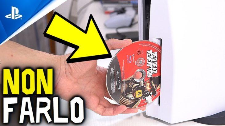 5 Cose da NON FARE su PS5 #PS5