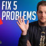Fix PS5's Five Biggest Problems!