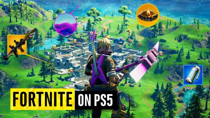 Fortnite on PS5 | 20 Next Gen Updates You Need To See (Xbox Series X too) #PS5 #Xbox #レビュー