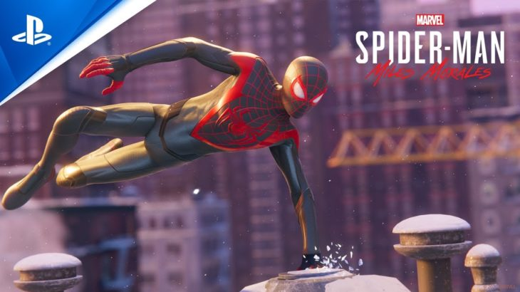 Marvel's Spider-Man: Miles Morales Launch Trailer I PS5, PS4 #PS5 #Trailer