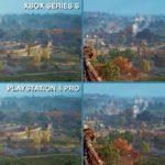 Nextgen-Kampf: PS5 vs Xbox Series X/S vs One X vs PS4 Pro: 4K, Framerate, Details, Ladezeiten #PS5 #Xbox #レビュー