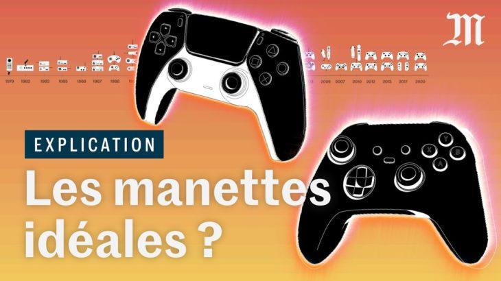 PS5, Xbox : pourquoi les manettes de jeux vidéo se ressemblent (presque) toutes #PS5 #Xbox #レビュー