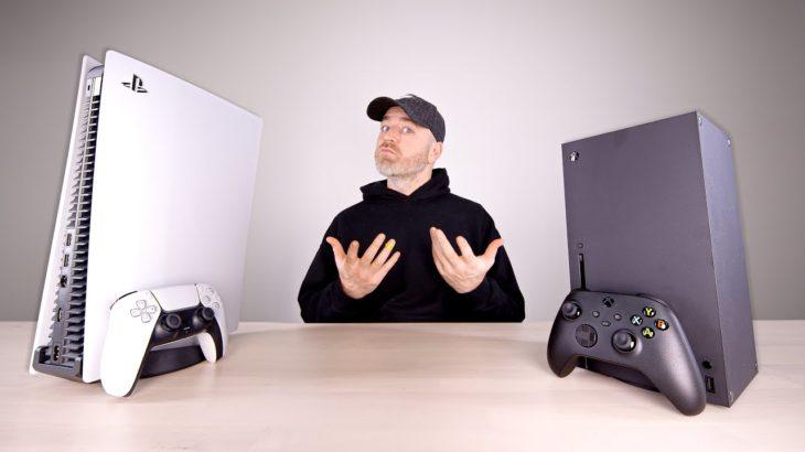 PS5 vs Xbox Series X – The Showdown #PS5 #Xbox #レビュー