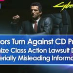 CD Projekt May Face Class Action Lawsuit From Investors (Cyberpunk 2077)