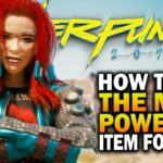 Get The Most Powerful Item In The Game For Free! Cyberpunk 2077 Tips & Tricks