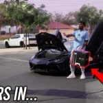 I Went to the Hood with a Lamborghini & PS5 FOR 24 HOURS!  *WORST DECISION EVER*