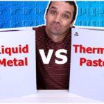 PS5 Liquid Metal vs Thermal Paste – It OVERHEATED!