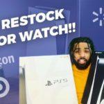 SECURE YOUR PS5/XBOX!! , MAJOR TARGET RESTOCK/DROP RUMOR!!!
