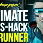 The Best Build in Cyberpunk 2077 You Never Tried….But Should | Cyberpunk End Game Netrunner Build