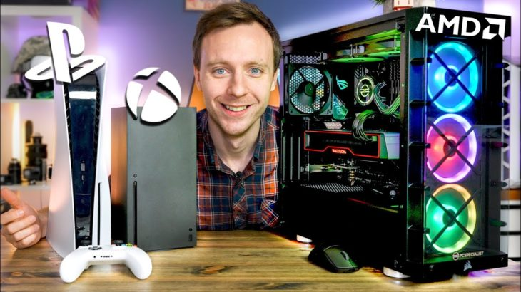 The ULTIMATE PC vs Console Gaming Showdown! (PC vs PS5 vs Xbox) | The Tech Chap