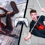 We Tried Spiderman Stunts In Real Life! (PS5)