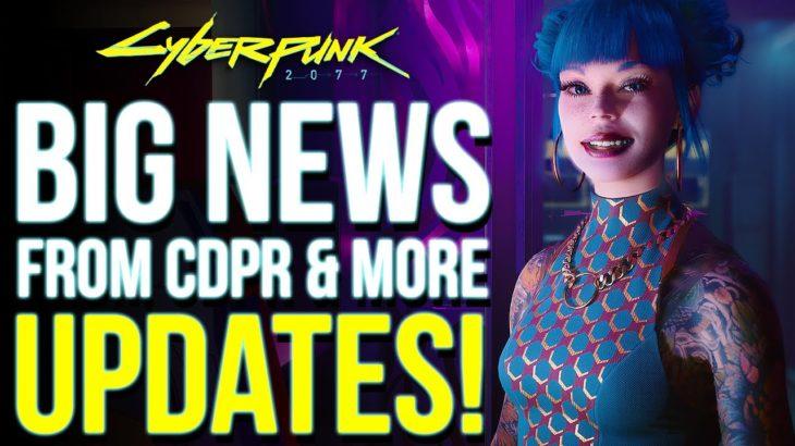 Check Your E-Mails! Cyberpunk 2077 BIG NEWS – Future DLC's, Multiplayer, CDPR Fixes & More!