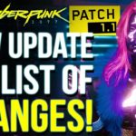 "Cyberpunk 2077 – NEW 16 GB Update 1.1 OUT NOW! Improvements for ""Old Gen"" Consoles & More!"