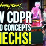 Cyberpunk 2077 – New Official CDPR Concepts Show Off Casino Feature, Mechs & Way More!