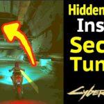 Hidden Room in Secret Tunnel of Cyberpunk 2077