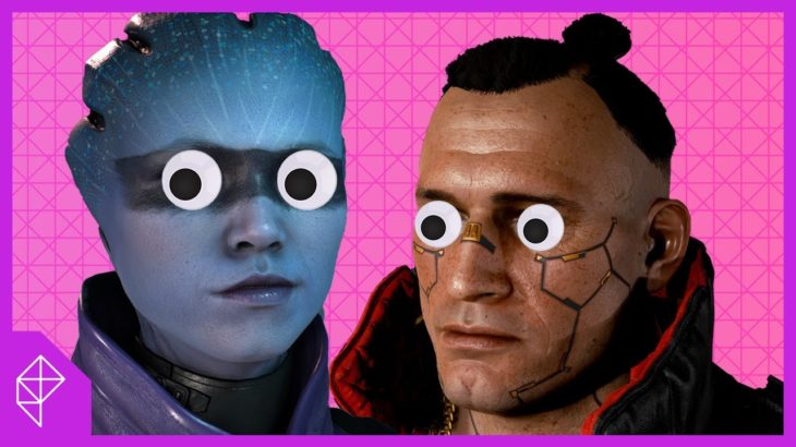 How Cyberpunk 2077 got the faces mostly right