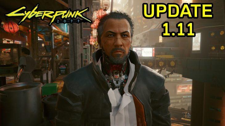 NEW CYBERPUNK 2077 UPDATE Fixes Loot Problem & Takemura Bug – Hotfix 1.11 Cyberpunk News Patch Notes
