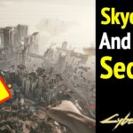 Skydiving and More Secrets in Cyberpunk 2077