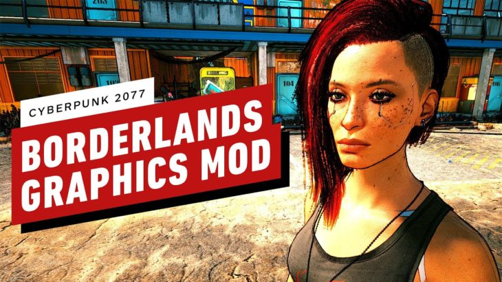 This Cyberpunk 2077 PC Mod Gives the Game a Borderlands-Style Visual Makeover
