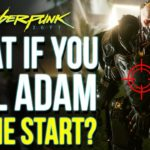 What Happens if You Kill ADAM SMASHER During The Prologue in Cyberpunk 2077 | Cyberpunk 2077 Secrets