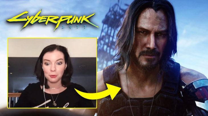 Female V Actor on working with Keanu Reeves in CYBERPUNK 2077