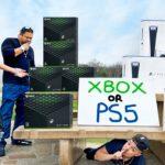 Leaving Free PS5 & Xbox Series X In Public! (PS5 VS Xbox)