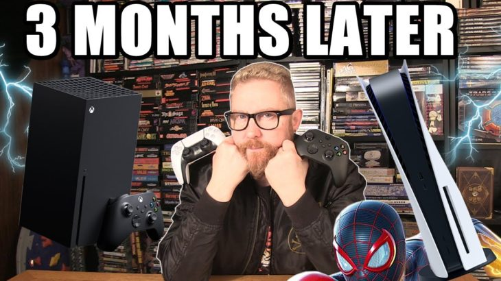 PS5 AND XBOX SERIES X 3 MONTHS LATER – Happy Console Gamer