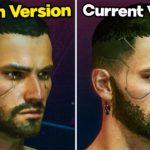 CYBERPUNK 2077 PS4 1.00 vs 1.20 Launch Version vs Current Patch