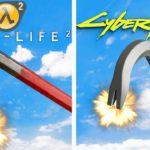 Half-Life 2 is better than Cyberpunk 2077