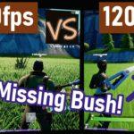 PS5 120fps vs 60fps Comparison on LG CX OLED in Fortnite & CoD: Cold War