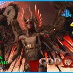 (PS5 60fps 4k HDR) GOD OF WAR 15 Directo MÁXIMA DIFÍCULTAD Desafíos Reino del fuego Valkiria Gondul