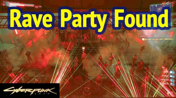Rave Party Found in Cyberpunk 2077