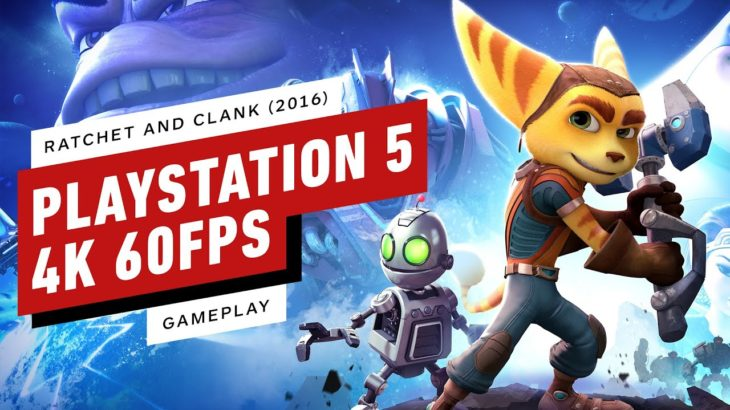 10 Minutes of Ratchet and Clank (2016) PS5 Gameplay – 4K 60FPS