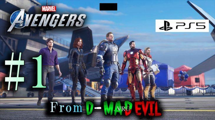 #1【PS5版 アベンジャーズ】Marvel's Avengers / ゲーム実況 From D-MD【プレステ5/4K/60fps】