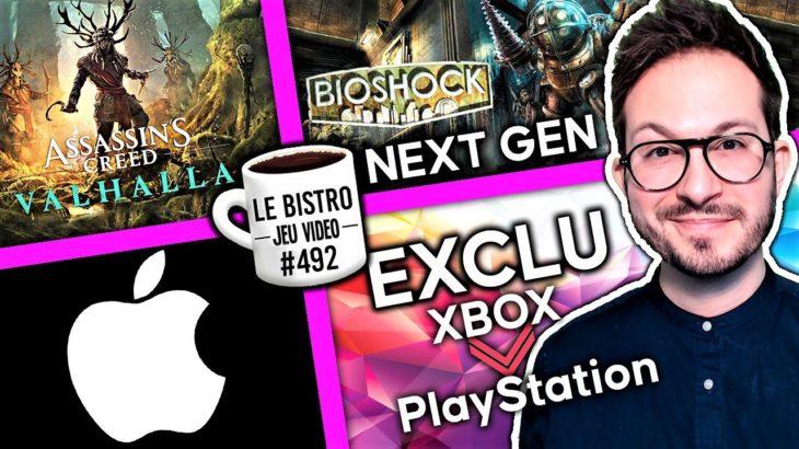BioShock PS5 Xbox Series, Assassin's Creed DLC reporté, une exclu Xbox débarque sur PS5/PS4, Apple