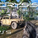 CRYSIS REMASTERED – JOGANDO NO PS5 com PATCH DE NOVA GERAÇÃO | Ray Tracing 4k 60fps