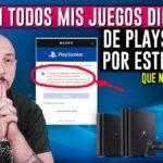 CUIDADO 🔥 Por este ERROR perdi mis JUEGOS DIGITALES de PS4 y PS5 😨