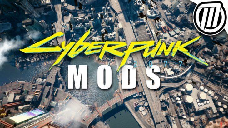 Cyberpunk 2077: Mods Make a HUGE Difference (15+ Mods Gameplay)