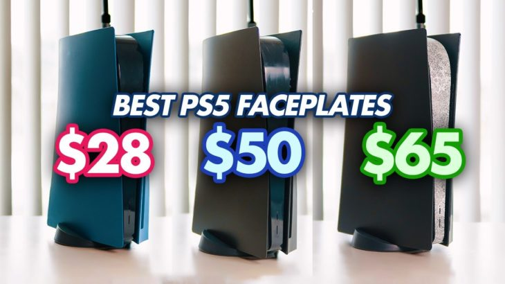 I Bought Every Major PS5 Faceplate So You Don't Have to (Dbrand Darkplate vs CMPShells vs Knock off)