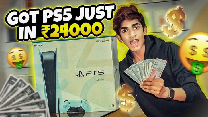 MY DREAM CONSOLE ( PS5 ) 😍🤑 IS HERE 💫 | GTRVLOGS