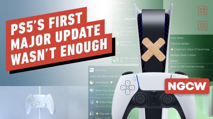 PS5's First Major Update Wasn't Enough – Next-Gen Console Watch