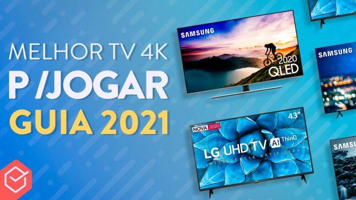Qual MELHOR TV 4K para PS5, XBOX SERIES e GAMES em 2021?! // #6 MODELOS CUSTO BENEFÍCIO!