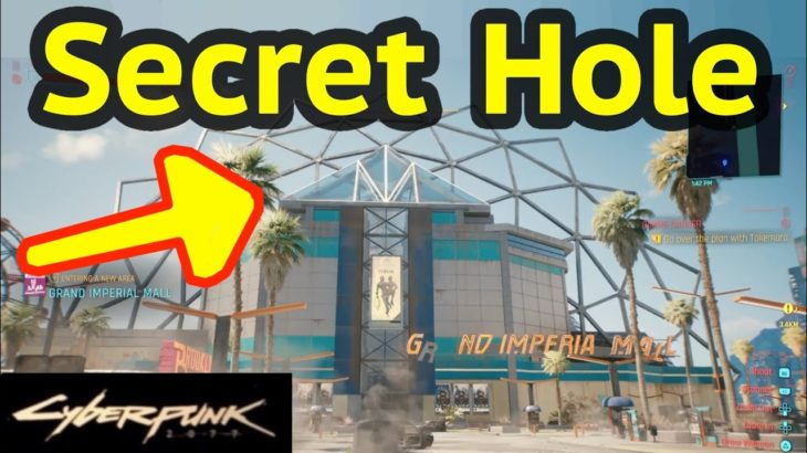 Reach All Floors of Grand Imperial Mall in Cyberpunk 2077: Enter Hator Theater