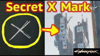 Secret Downtown X Mark in Cyberpunk 2077