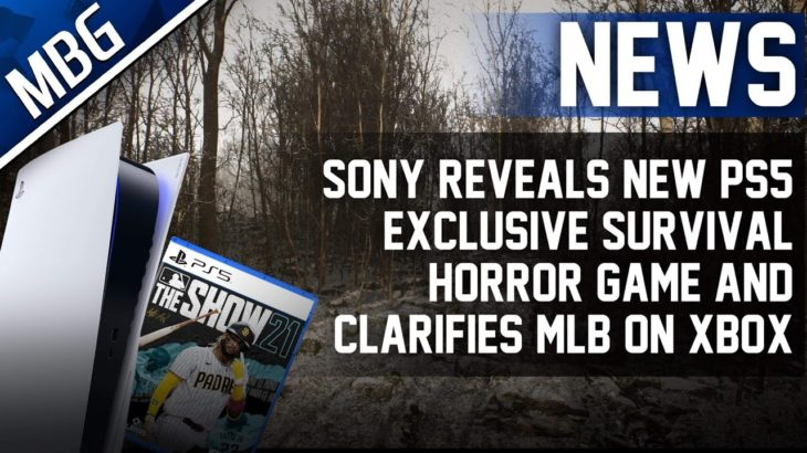 Sony Reveals New PS5 Exclusive Survival Horror Game & Clarifies MLB The Show On Xbox Game Pass
