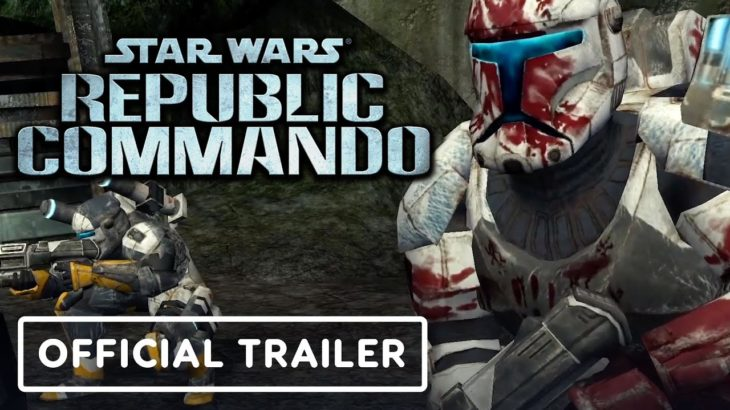 Star Wars Republic Commando – Official Launch Trailer (PS4, PS5, Nintendo Switch)