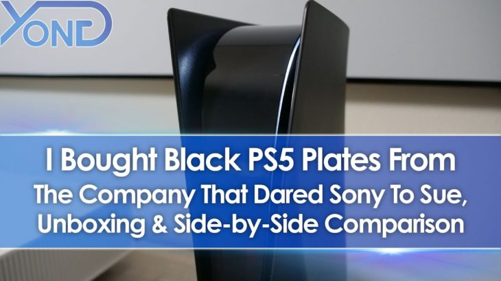 Bought Black PS5 Plates From Dbrand Who Dared Sony To Sue, Unboxing + Side-By-Side Comparison