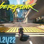 Cyberpunk 2077 Patch 1.22 PS5 Gameplay