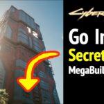 Cyberpunk 2077: Secret Door in Megabuilding H12