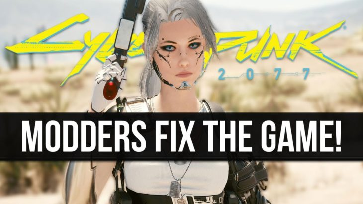 Modders are Making Huge Improvements & Adding New Features Into Cyberpunk 2077